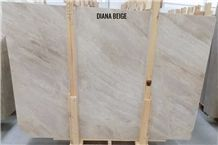 Diana Royal Marble Tiles & Slabs, Diana Beige Polished Marble Flooring Tiles, Walling Tiles