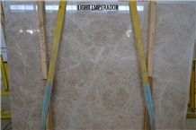 Emperador Light Marble Tiles & Slabs, Brown Polished Marble Flooring Tiles, Walling Tiles