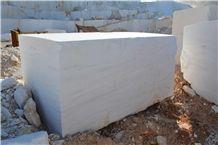 Thassos Crystal Maia White Marble Blocks