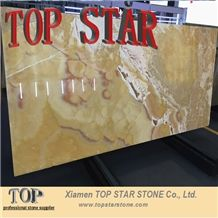 Sunset Cloud Rainbow Pineapple Onyx Tile & Slab Cheap Price for Flooring Tile