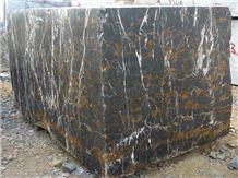 Black & Gold Marble Blocks