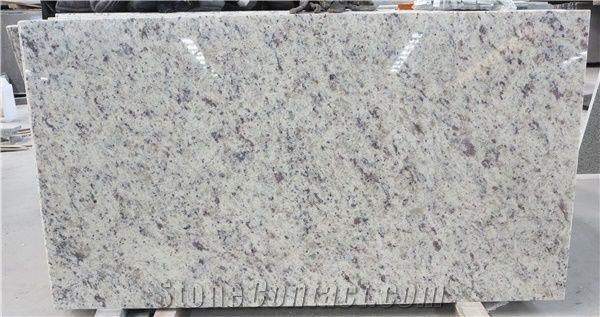 Cotton White Granite Rose White Granite Slab Brazil