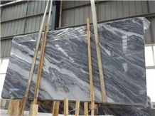 Chinese Nuvolato Grigio Marble Tiles and Slabs