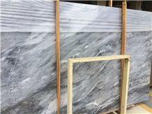 Italian Nuvolato Grigio Marble Tiles and Slabs
