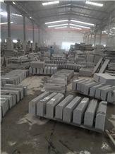 G603 / Silver Grey Flamed Granite Kerbstone,Silvery Grey Hubei G603 Padang Crystal Granite,Sesame White Granite,Crystal Grey Granite,Light Grey Granite Kerbstone