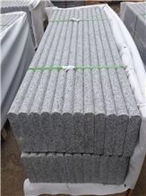 G603 / Silver Grey Polished Bullnose Pool Coping,Silvery Grey Hubei G603 Padang Crystal Granite,Sesame White Granite,Crystal Grey Granite,Light Grey Granite Bullnose