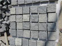 Cheap Price -G654 Granite China Impala Black Granite Cube Stone /Cobble Stone for Paverments/ Exterior Landscaping Stone