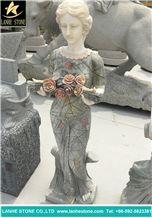 Granite Human Statue, Sculpture Stone Carving Granite Carving, Granite Sculpture