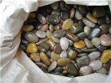 Fargo Multi Color High Polished Pebble Stone Mixed Color Best Polished River Stone Natural Stone Gravels Multi Color Aggregates River Pebble Stone for Walkway and Driveway
