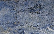 Azul Bahia Granite Tiles & Slabs, Blue Granite Floor Tiles, Covering Tiles