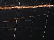 sahara noir marble tiles & slabs, black polished marble flooring tiles, walling tiles