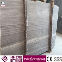 Hot Sale Siberian Sunset Stone Slab Wooden Grey Marble