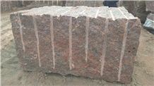 Gr1 Rosso Santiago Granite Blocks, Red Granite Blocks