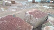 Gr6 Maple Red Blocks, Leznykivske Granite Blocks