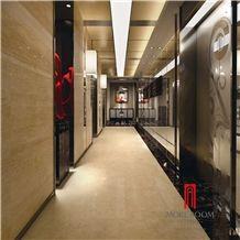 Auman Beige Marble Tile Orient Ceramic Floor Tile Ceramic Tile Made in China