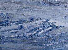 Calcite Azul Extra Marble Slabs, Calcite Blue Polished Slab