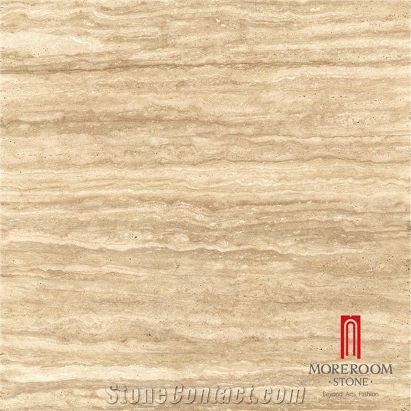 Off White Travertine Alike Ceramic Porcelain Floor Tiles For Home