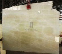 Olive Onyx Slab & Tile Light Green Onyx Price Wall Decor Luxury Gem Stone Onyx Medium Green China Suppier