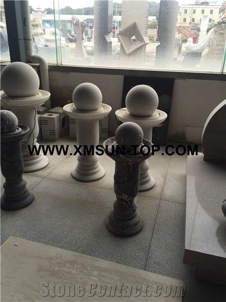 Chinese Nero Maquina Mable Fortune BallStone BallGarden Fountain Amazing Stone Ball Garden Decoration