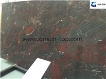 Iron Red Marble Slab/Marble Big Slabs & Tiles & Gangsaw Slabs & Strips(Small Slabs) & Customized