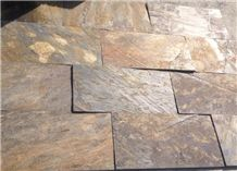 Multicolor Riven Slate Tiles,Rusty Split Face Slate Paving Stone,Sunset Slate Patio,Multicolour Slate Floor Tiles,Autumn Rose Slate Stone Pavers,Copper Rust Slate Patio Stones