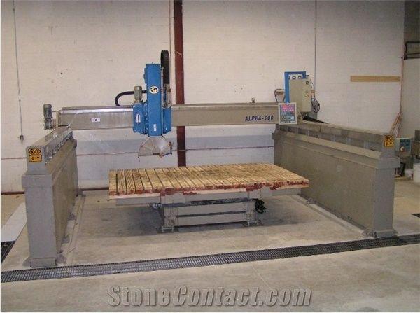 Granit Cutting Machine Stone Cnc Router Granite Bridge Saw