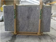 Antelope Grey White Marble Tiles, Grey Polished Marble Floor Tiles, Covering Tiles