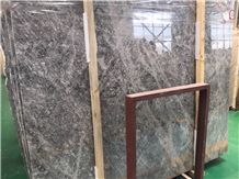 Latte Grey Polished Marble Slabs & Tiles, China Grey Marble