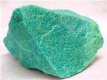Amazonit Stone Blocks, Green Stone Blocks