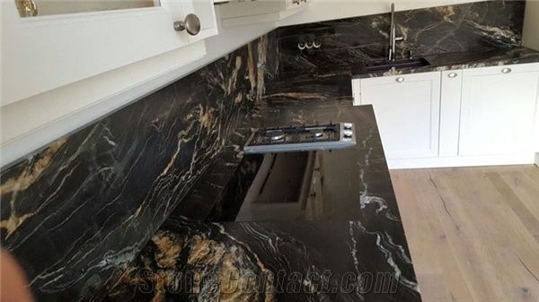 Belvedere Granite Kitchen Countertops From Italy