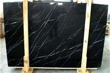 Toros Black Marble Tiles & Slabs, Polished Marble Floor Tiles, Wall Covering Tiles