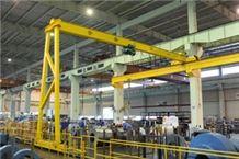 Double Girder Semi Gantry Crane for Price