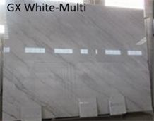 China Bianco Carrara Guangxi Ivory White Marble Slabs & Polished Tiles