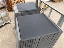 China Black Hainan Basalt Tile