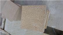 China Yellow Sunset Gold Desert Gold Beige Sandstone Sandblast Tile