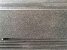 G684 China Black Dark Black Pearl Fuding Black Basalt Tile & Slab