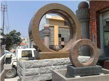Granite & Marble Sculptured Fountain /Exterior Stone