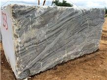 Grigio Monet Marble Blocks, Grey Marble Blocks