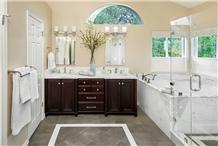 New Imperial Danby Marble Modern Bathroom Design