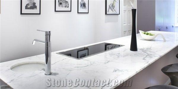 Calacatta Carrara Marble Kitchen Bench Tops From Australia