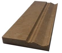 Baseboard Noce Travertine 1070