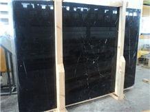 Konya Black Marble Slabs
