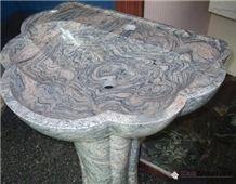 China Juparana Granite Sinks/Wash Bowls/Bath Sinks