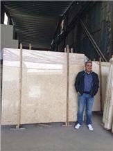 Kpm Bursa Light Beige Marble Tiles & Slabs, Polished Marble Flooring Tiles, Walling Tiles