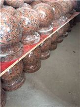 G562 Maple Red Granite Parking Stone /China Red Granite Parking Curbs