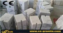Guangxi White Marble Parking Stone,China White Marble Car Parking System White Marble Parking Barriers