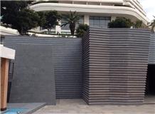 Moon Grey Limestone Facade, Grey Limestone Walling Tiles