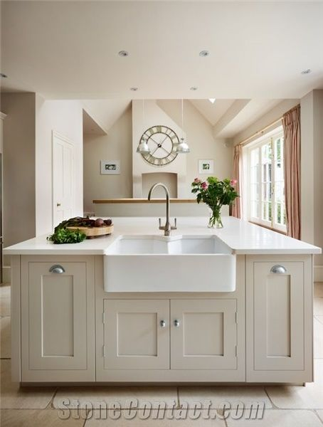 Home Kitchen Countertops Marble Imitation Like Carrara White Quartz Stone Countertop At The Depot Combines Performance And Design