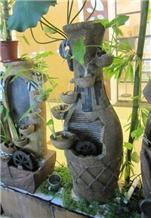 Nice Design Indoor Water Fountain, Granite Fountain