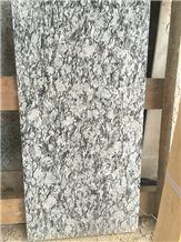Spray White light Granite Tile,Sea Wave Flower Granite Tile,Sea Wave Flower White Granite Tile